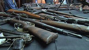 Prywatny arsenał  w Muzeum Powstania