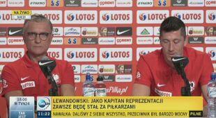 Lewandowski: jako kapitan zawsze będę stał za piłkarzami