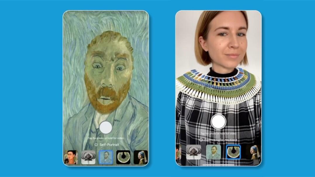 Zostań Fridą Kahlo lub Van Goghiem. Wystarczy, że zrobisz sobie selfie