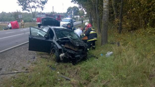 """Tragiczny wypadek na krajowej """"62"""". Jedna osoba zginęła"""