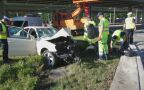 Wypadek na rondzie Starzyńskiego