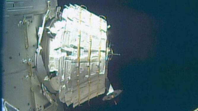 ISS powiększa swój metraż. Astronauci dołączyli nowy moduł mieszkalny