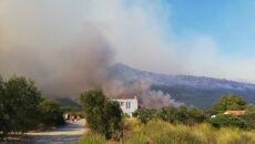 Pożary w południowej Chorwacji