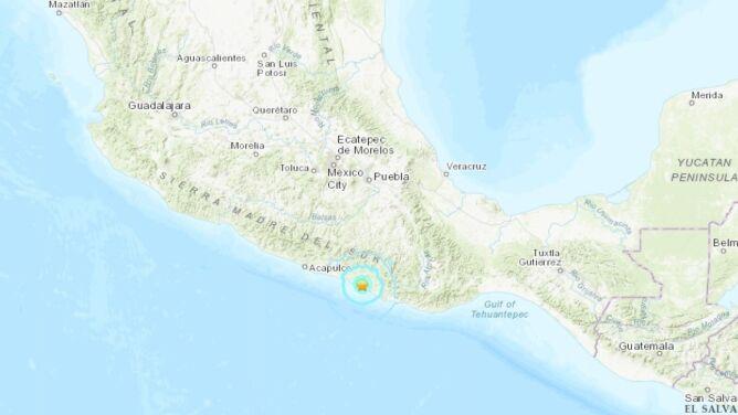 Ziemia zatrzęsła się w Meksyku. Wstrząsy odczuwalne były w stolicy kraju