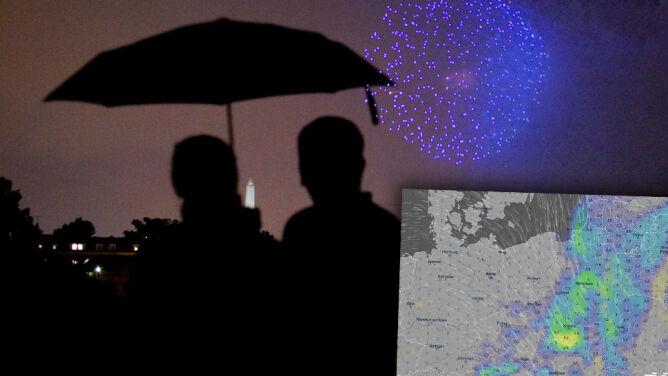 Deszczowo i wietrznie. Prognoza pogody na sylwestra i Nowy Rok