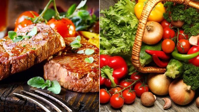 Wegetarianie czy mięsożerni. Kto żyje dłużej?