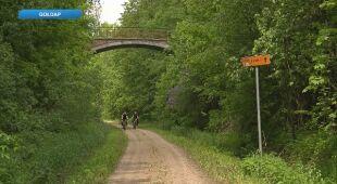 Sławomir Gołubowicz o niezwykłej ścieżce rowerowej
